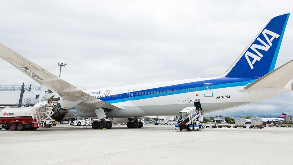 航空機給油作業イメージ